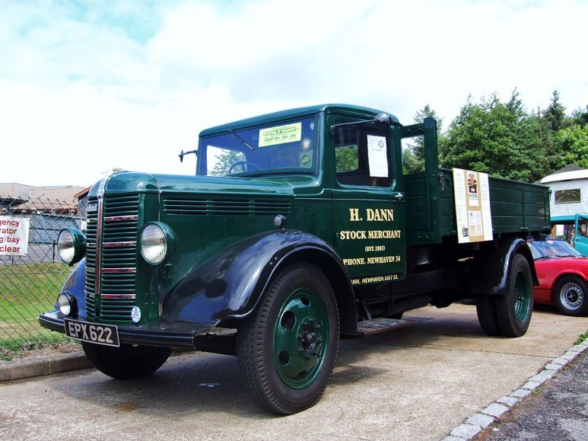 1951 Bedford Lorry at Brede Waterworks
