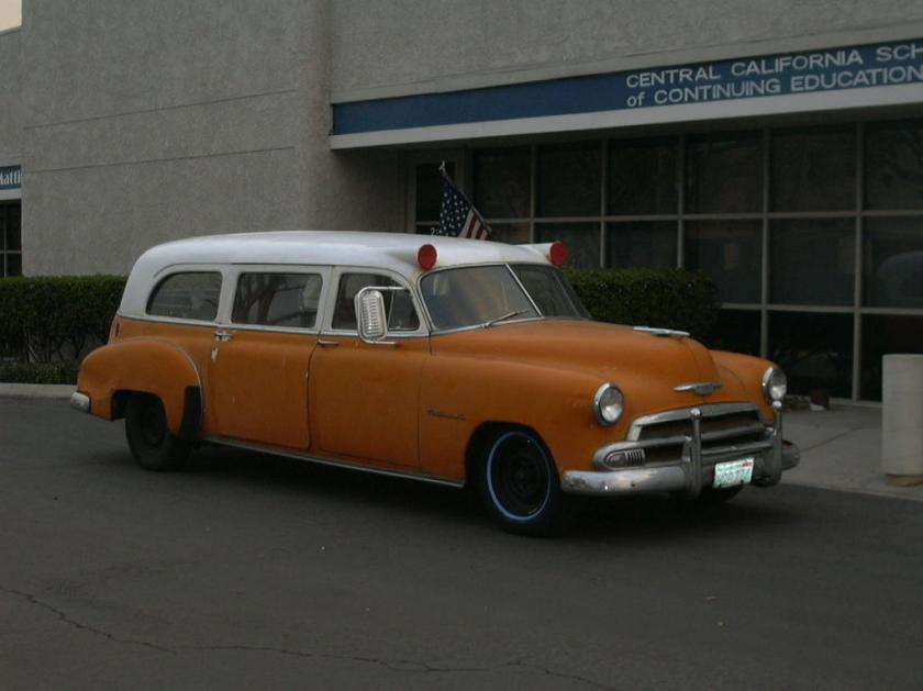 1951 Chevrolet National Imperial Series Ambulance
