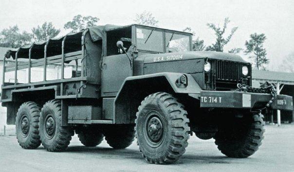 1951 Diamond Т М41, 6x6