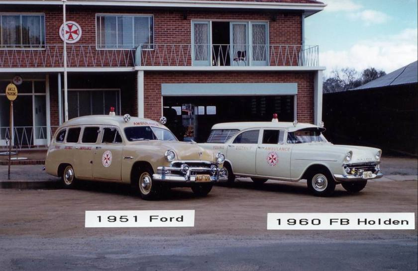 1951 Ford 1951 and  Holden FB 1960