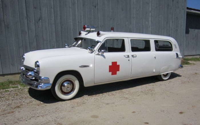 1951 Ford ambulance