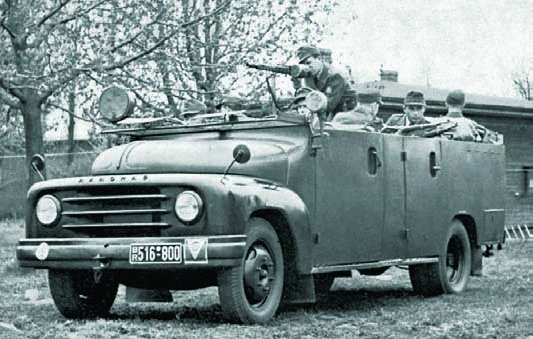 1951 Hanomag L28G