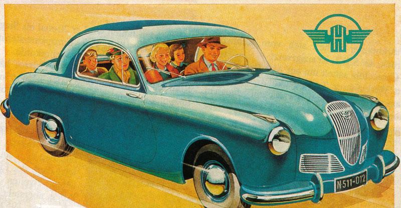 1951 Hanomag Partner N511