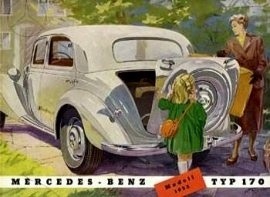1951 Mercedes-Benz 170 a