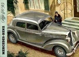 1951 Mercedes-Benz 170 c