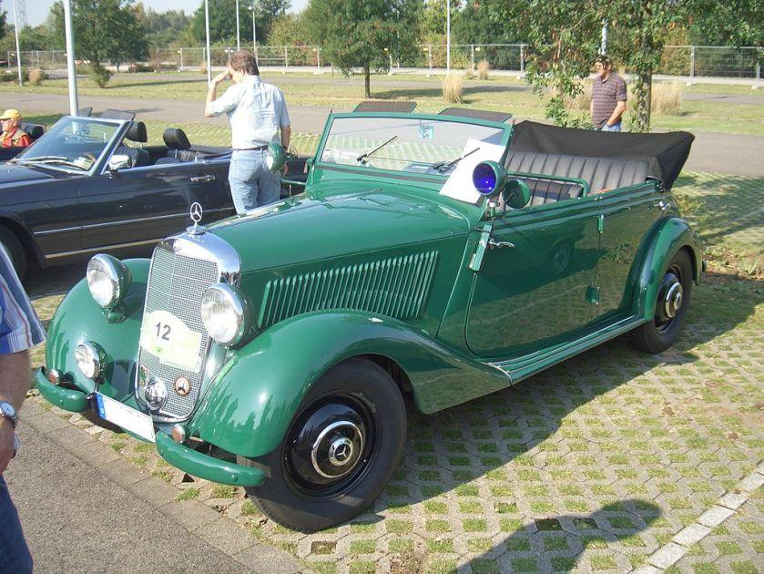 1951 Mercedes-Benz 170D OTP Police special (1951-1952)