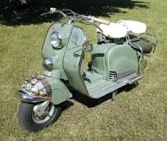 1951 NSU-Lambretta Scooter