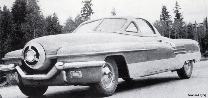 1951 ZIL 112 Cyklon Experimental Car - fVl (Russia)