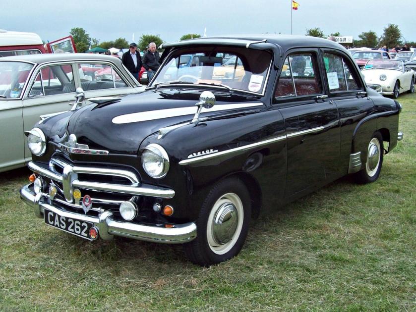1952-54 Vauxhall Velox EIPV