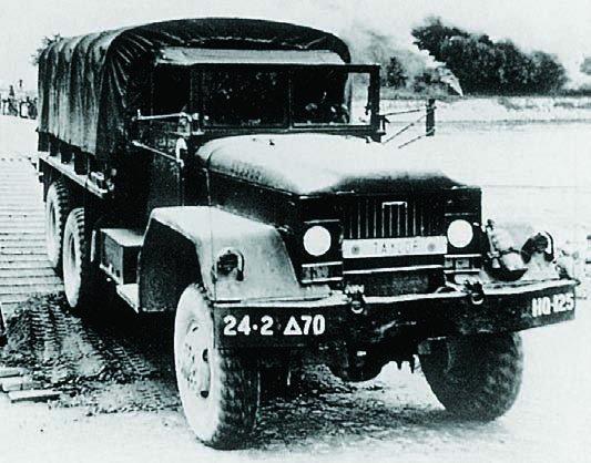 1952 Diamond Т М54, 6x6