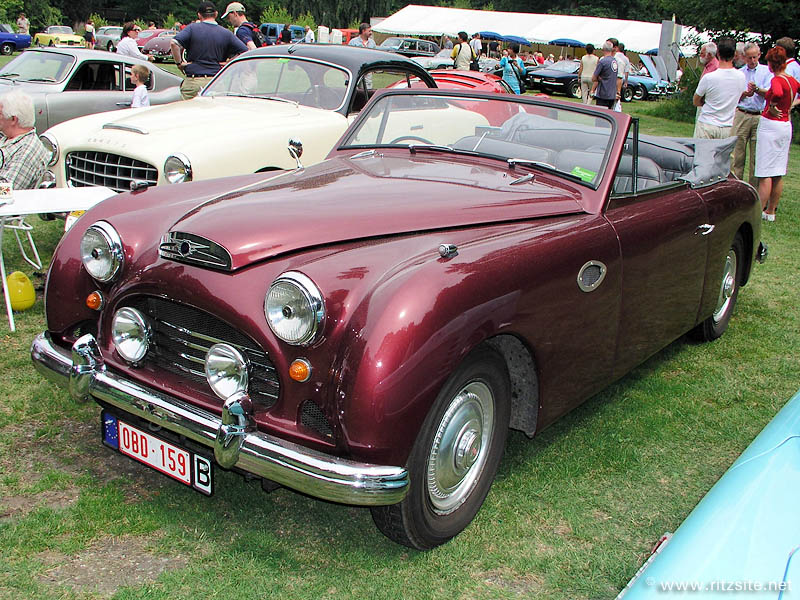 1952 Jensen Interceptor - cabriolet body