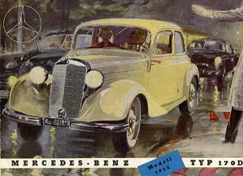 1952 mercedes benz 170d-a
