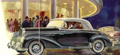 1952 mercedes benz 220-caba