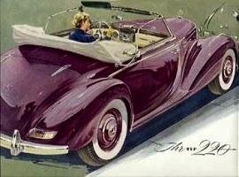 1952 Mercedes-Benz 220 Cabriolet