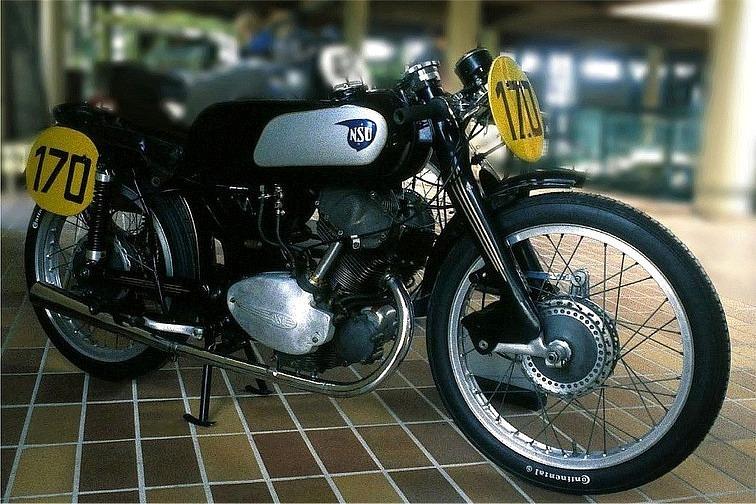 1952 NSU Rennfox