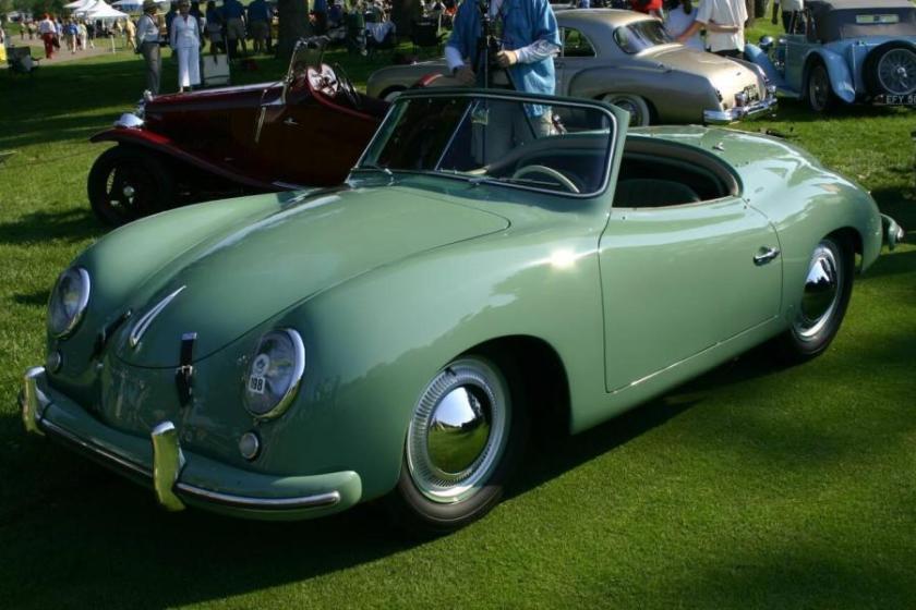1952 Porsche 356 K-9-1 Prototype