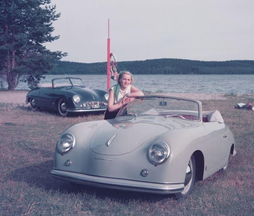1952 Porsches Ad