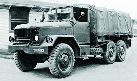 1952 REO М34, 6x6