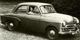 1952 Vauxhall Wyvern Model EIX Saloon