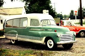 1953 CHEVROLET HEARSE OR AMBULANCE