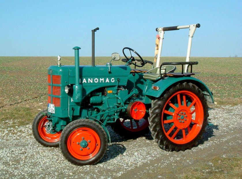 1953 Hanomag R 16