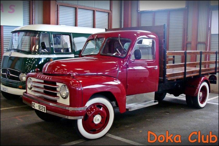 1953 Hanomag Truck Rot