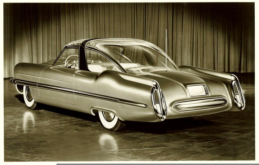 1953 LINCOLN XL-500 back