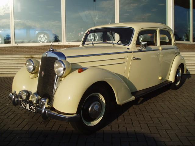 1953 Mercedes 170D