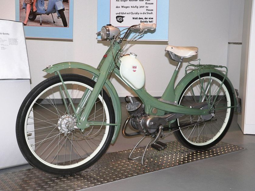 1953 NSU Quickly 50 c.c. TS MOPED
