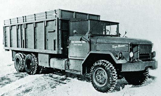 1953 REO М36, 6x6