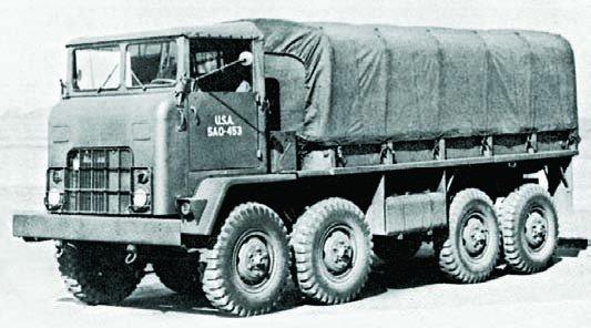 1953 REO ХМ282, 8x8