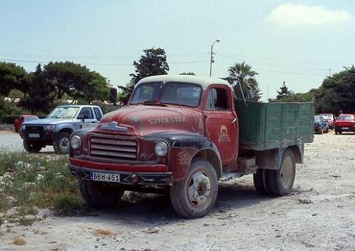 1954 Bedford A-Series, BBH 451