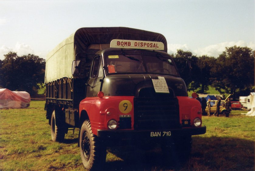 1954 Bedford RL 3Ton 4x4 Cargo (BAN 71 G)