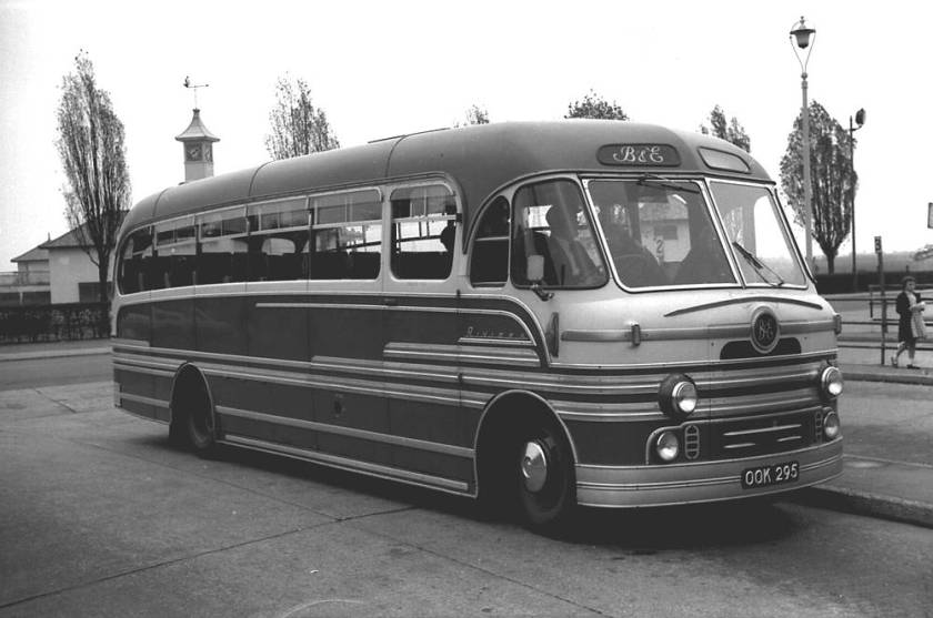 1954 Bedford SBG with a Yeates Riviera C36F body
