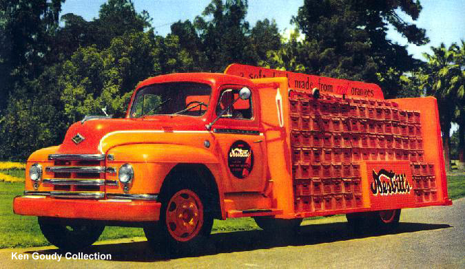 1954 Diamond T Nebitts Soda truck from Fresno, California