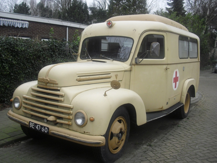 1954 Ford G 39 F ambulance BE-47-60