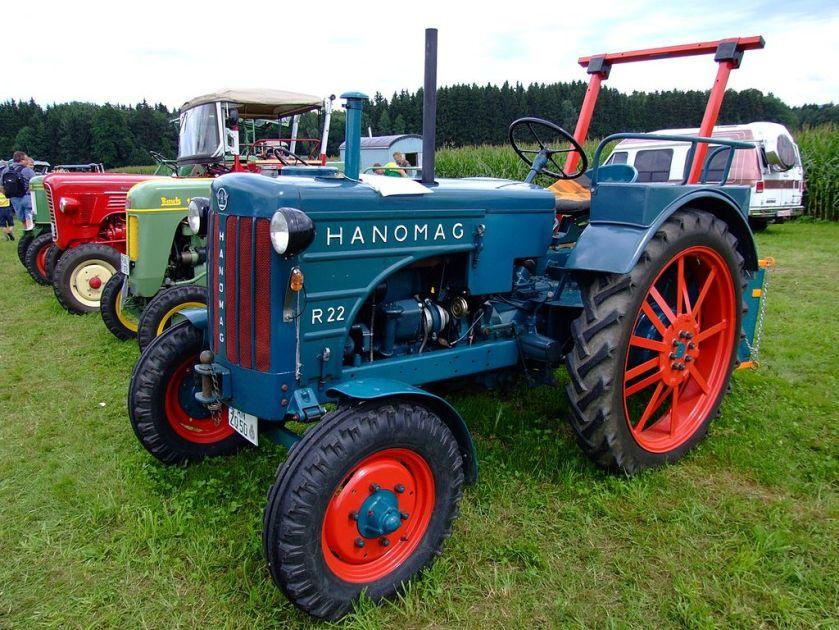 1954 Hanomag R 22