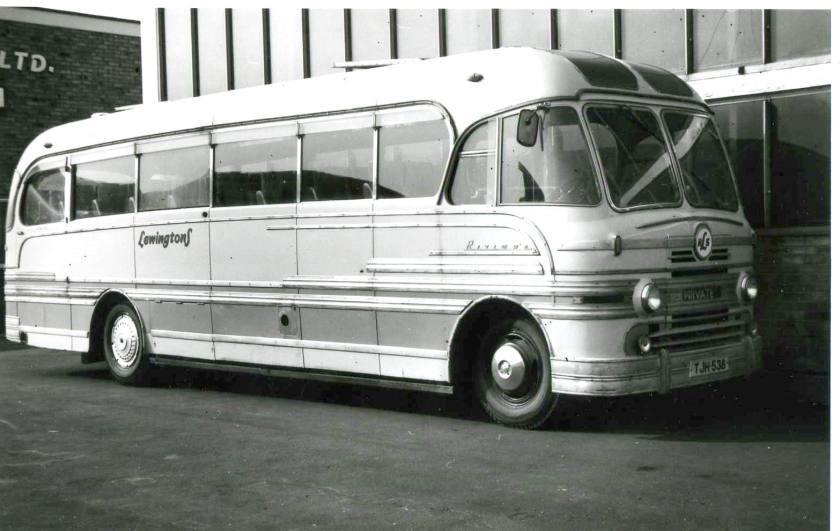 1954 Lewington's Yeates Riviera - Bedford SB TJH 538, c