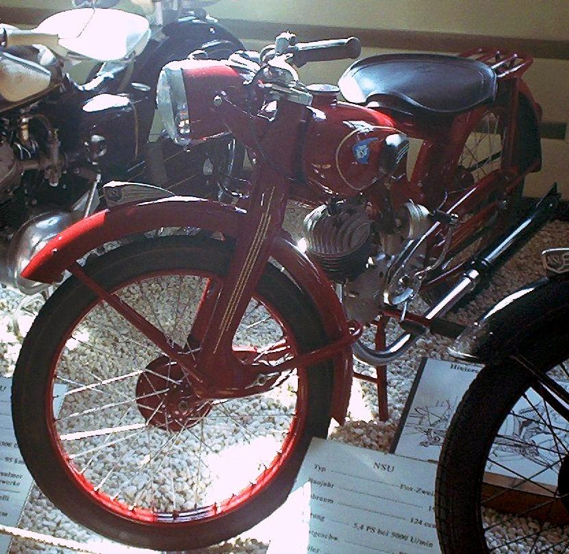 1954 NSU Fox 2-Stroke
