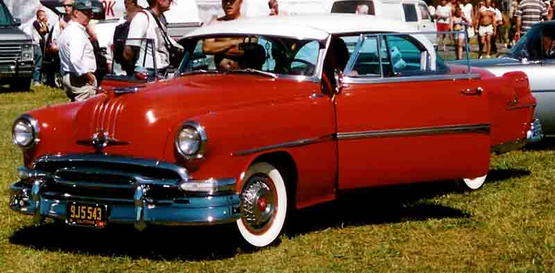 1954 Pontiac Star Chief Eight Custom Catalina 2d HT