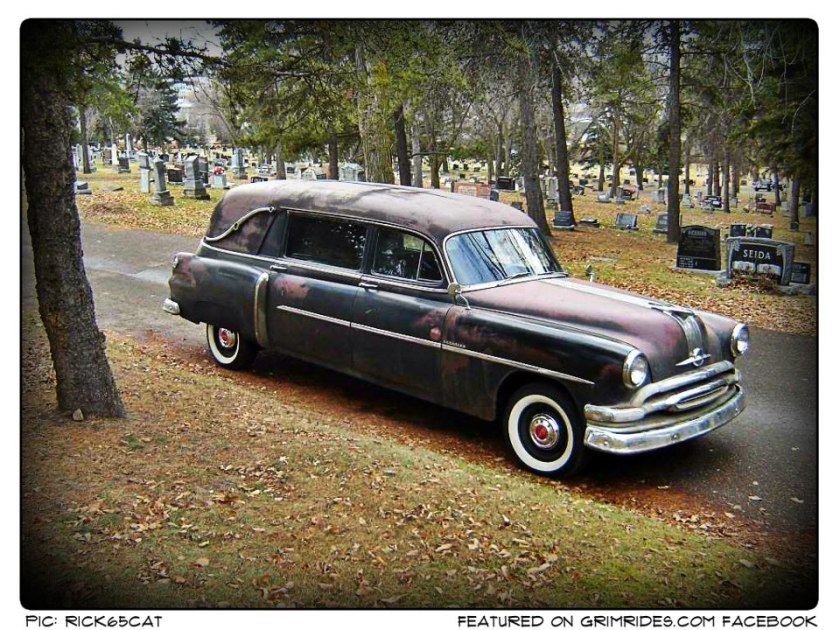 1954 Pontiac Superior Hearse
