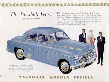 1954 Vauxhal Velox