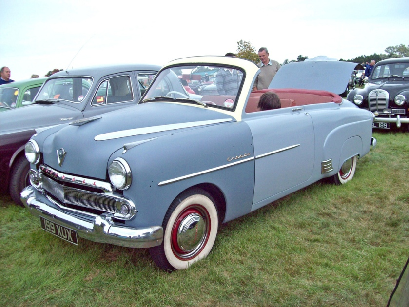 1954 Vauxhall Cresta EPIC Convertible Engine 2262cc S6
