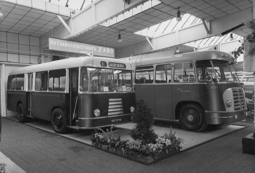 1954 ZABO BBA bussen 372-651 AutobusRAI in 1954