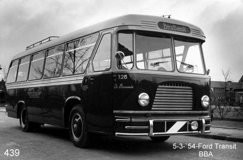 1954 ZABO Ford transit bba 326 1