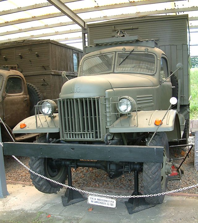 1954 ZiS-151-base with P-3 radio-location station