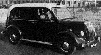1955 Beardmore mark VII Taxi