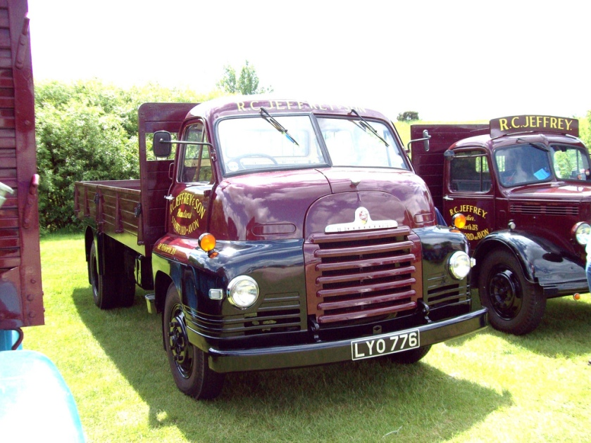 1955 Bedford S Type Dropside Engine 3519cc Registered LYO 776