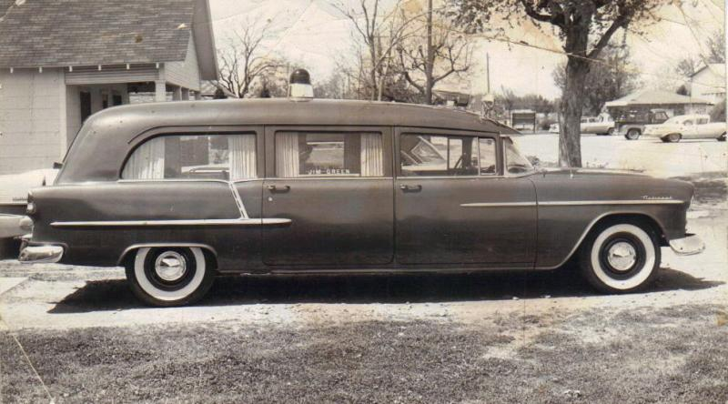 1955 Chevrolet Hearse Amb Jim Green 55