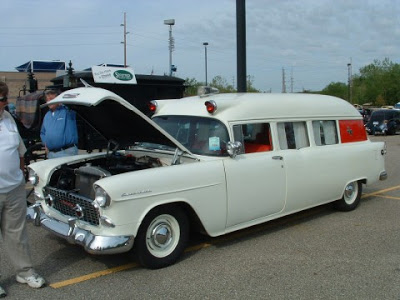 1955 Chevy Hearse